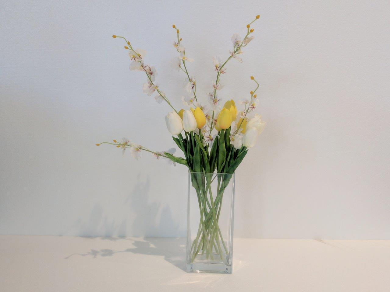 Spring Blossoms Display Bouquet Beautiful Sillk Flower Gifts Online