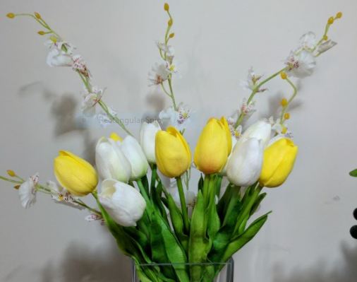 Spring blossoms display bouquet beautiful sillk flower gifts online silk flowers western australia mightylinksfo