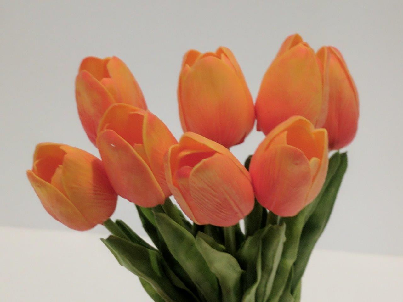 Design Your Own Flower Arrangement With Quality Real Touch Pu Tulips